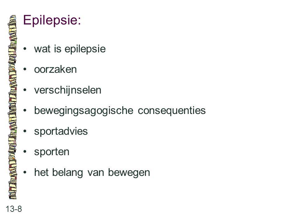 Epilepsie: • wat is epilepsie • oorzaken • verschijnselen