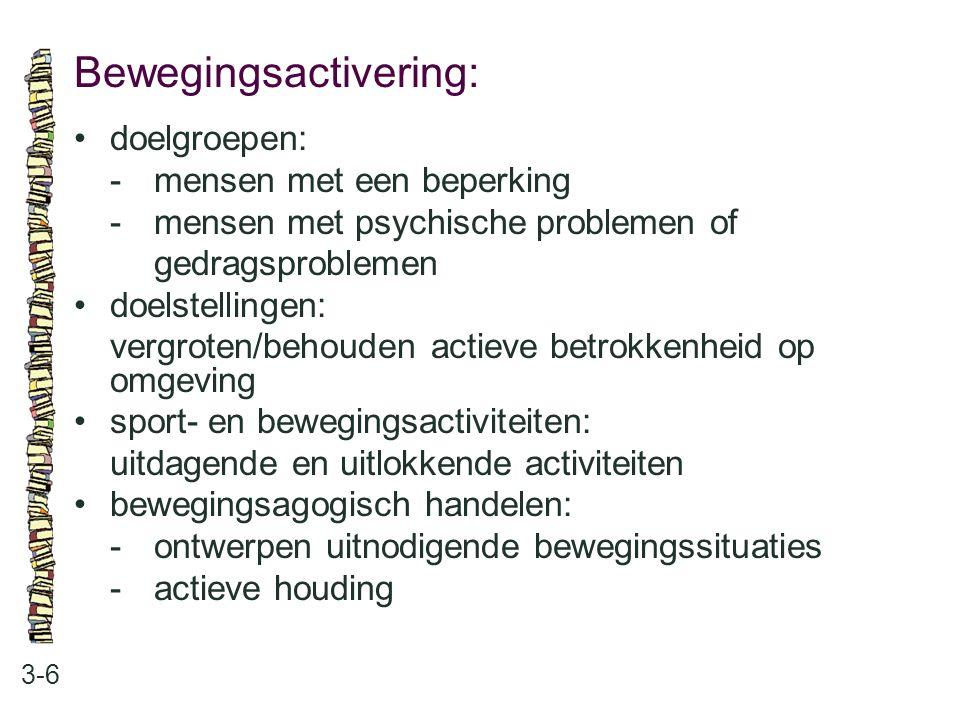 Bewegingsactivering:
