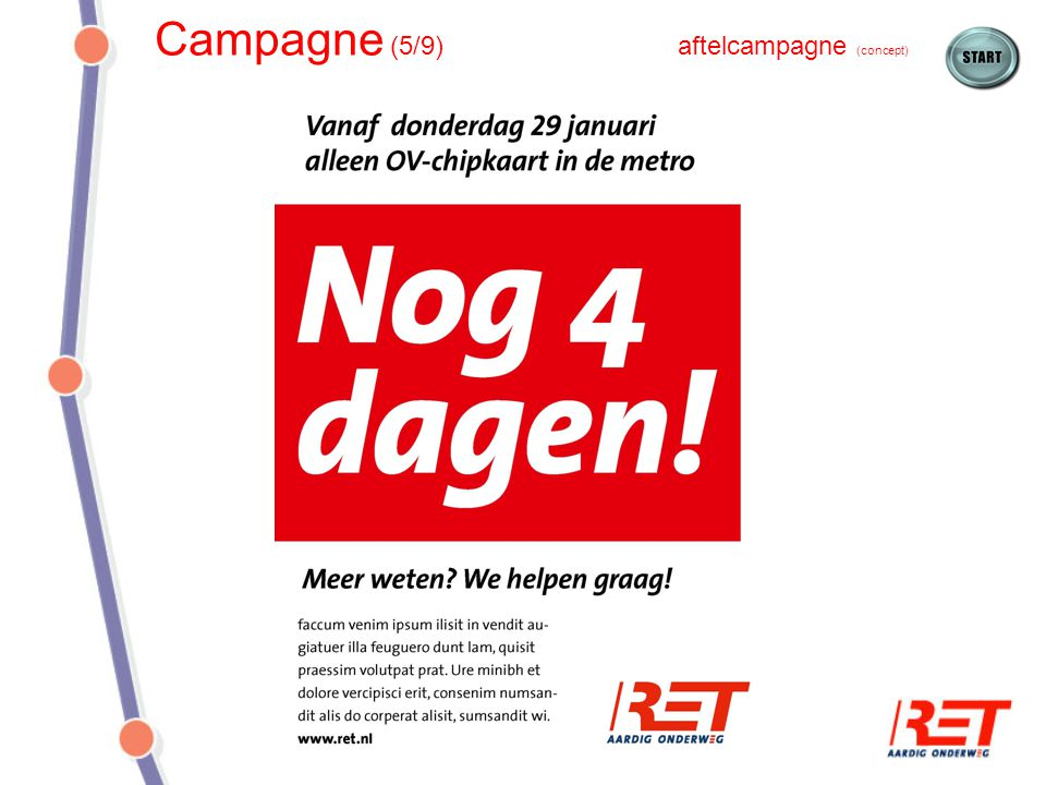Campagne (5/9) aftelcampagne (concept)