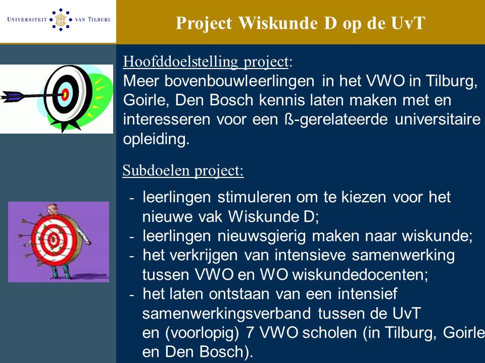 Project Wiskunde D op de UvT