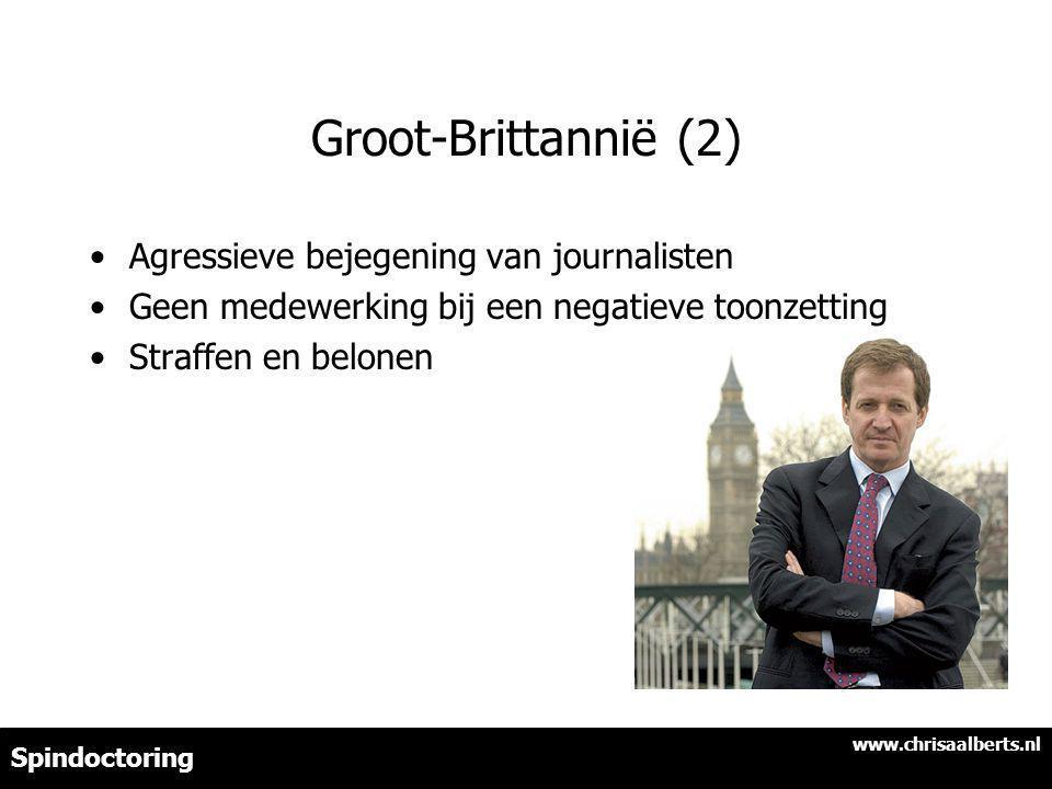 Groot-Brittannië (2) Agressieve bejegening van journalisten