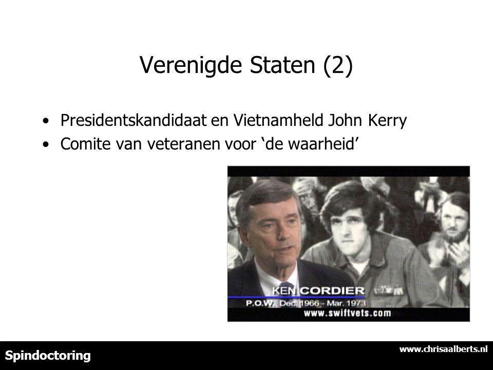 Verenigde Staten (2) Presidentskandidaat en Vietnamheld John Kerry