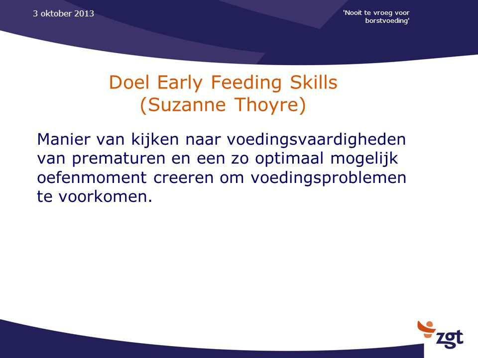 Doel Early Feeding Skills (Suzanne Thoyre)