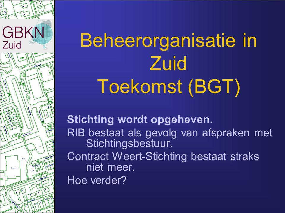Beheerorganisatie in Zuid Toekomst (BGT)