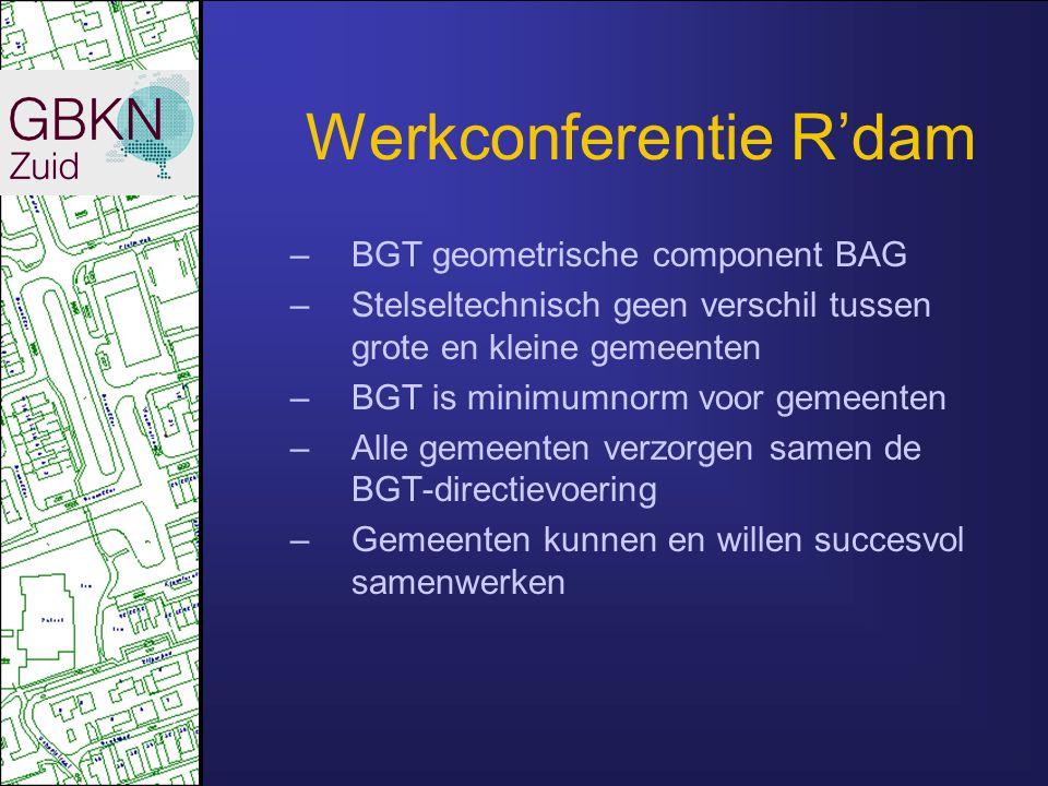 Werkconferentie R'dam