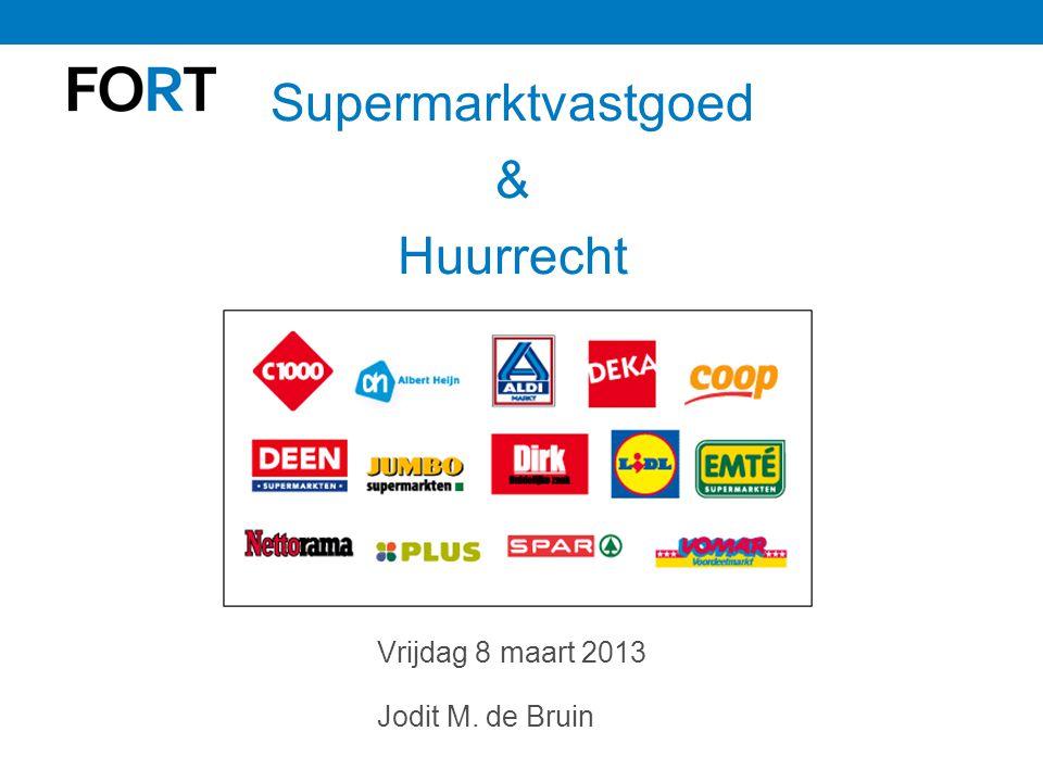 Supermarktvastgoed & Huurrecht