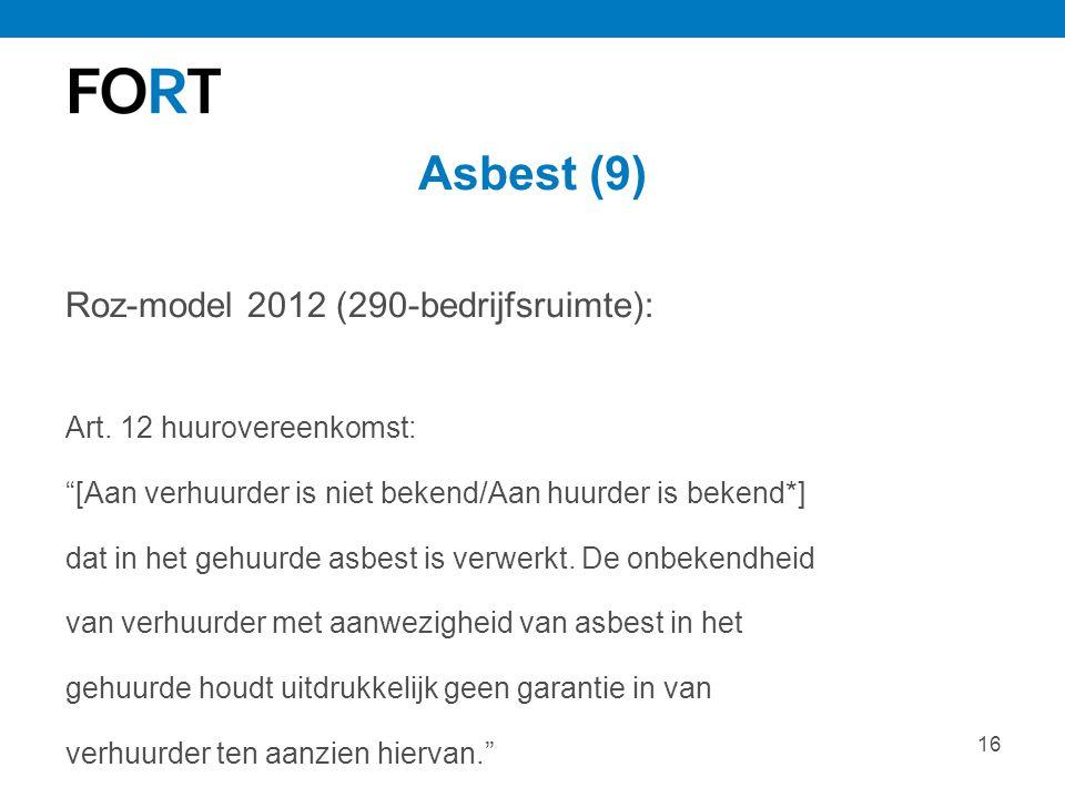Asbest (9) Roz-model 2012 (290-bedrijfsruimte):