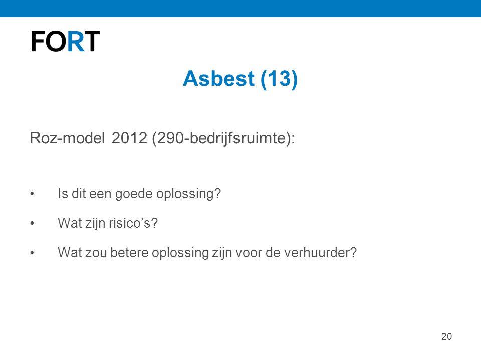 Asbest (13) Roz-model 2012 (290-bedrijfsruimte):