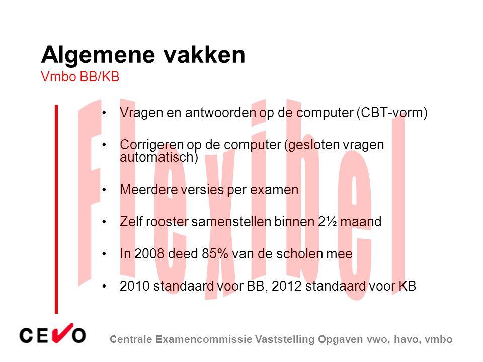 Algemene vakken Vmbo BB/KB