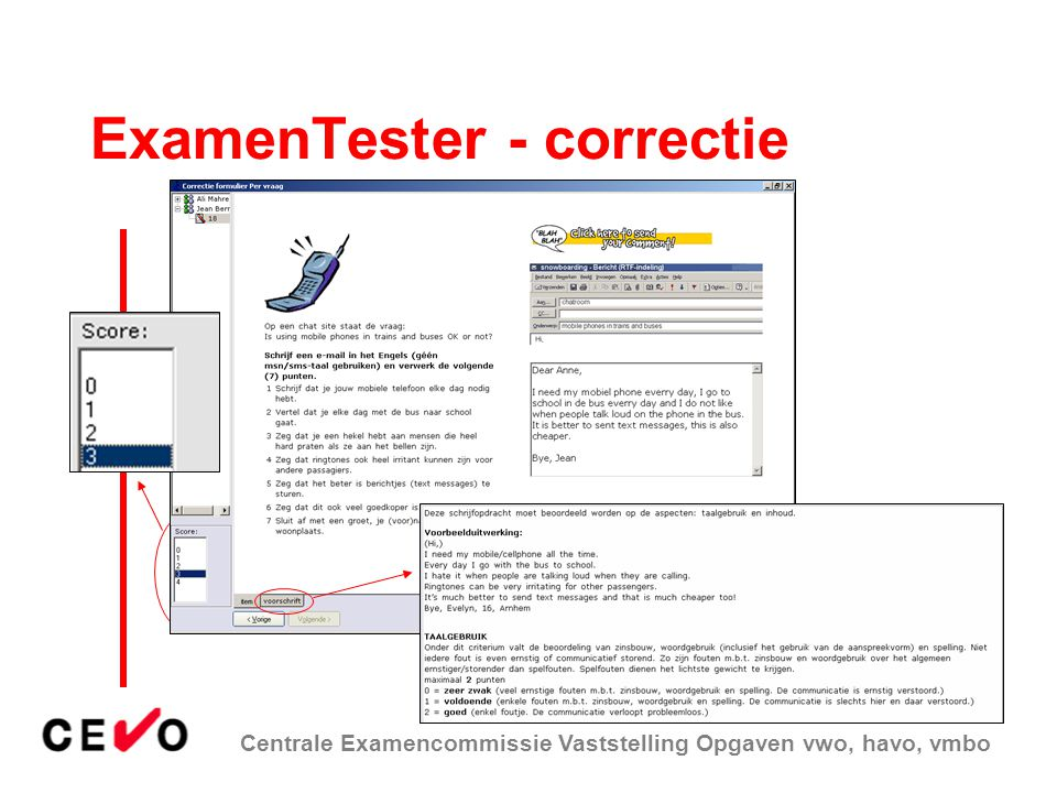 ExamenTester - correctie