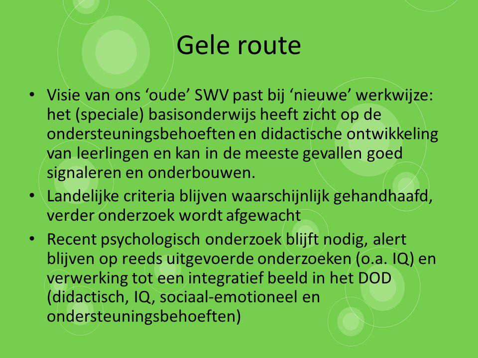 Gele route