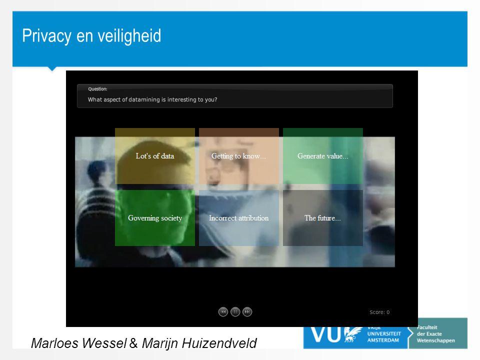 Marloes Wessel & Marijn Huizendveld
