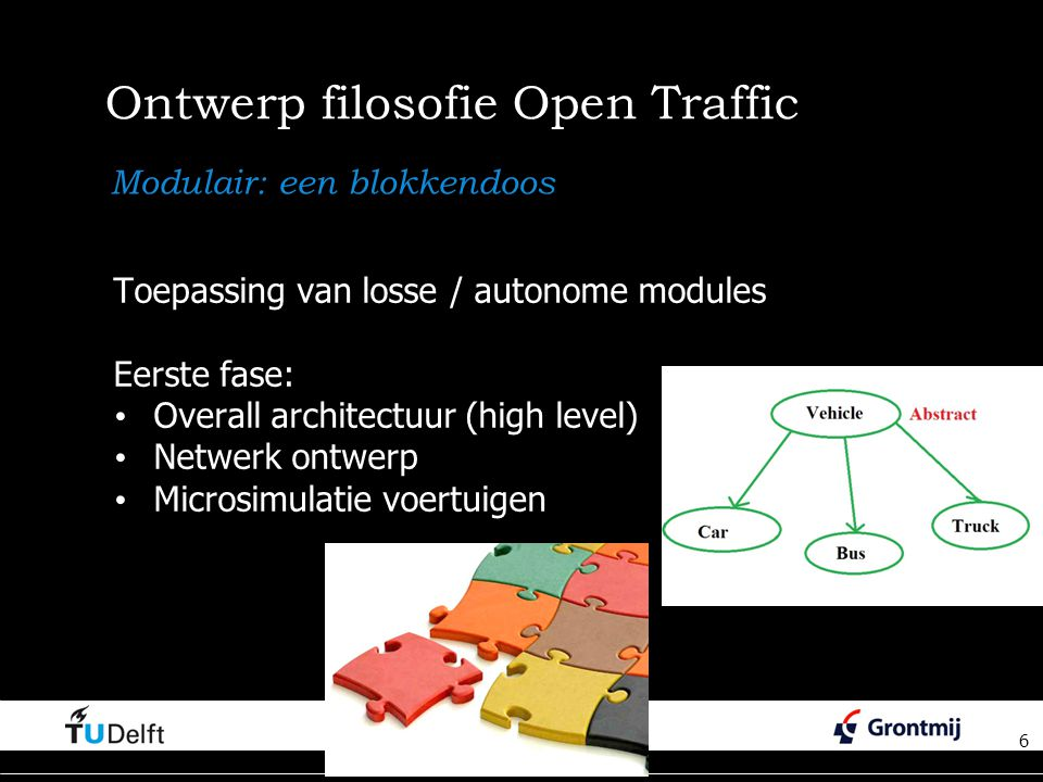 Ontwerp filosofie Open Traffic