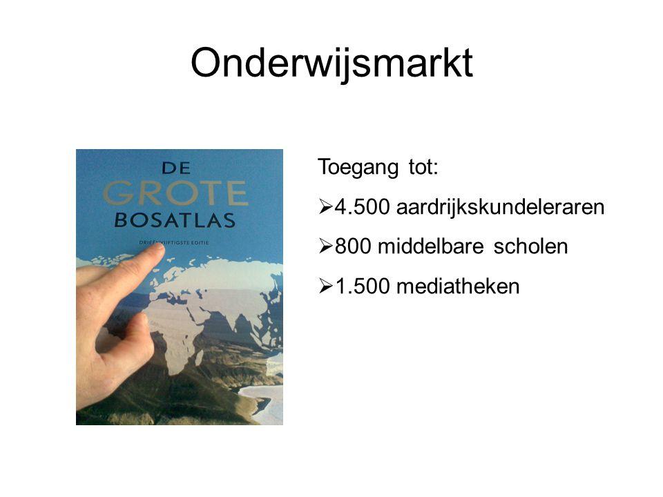 Onderwijsmarkt Toegang tot: 4.500 aardrijkskundeleraren