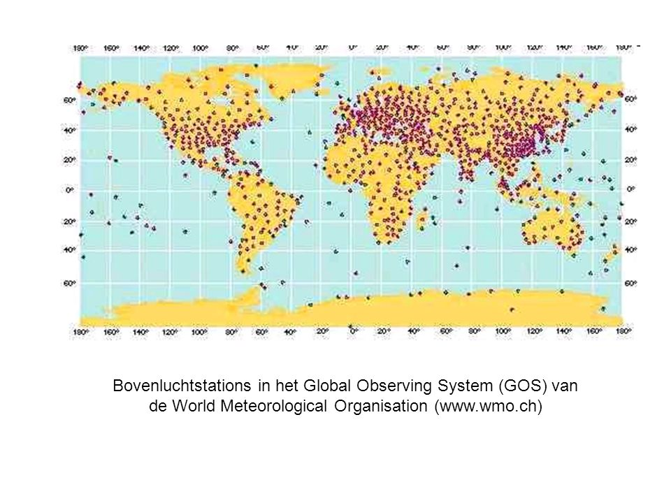 Upper-air observations
