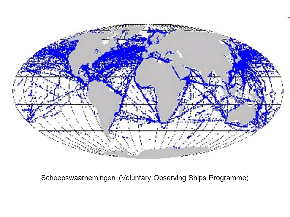 Scheepswaarnemingen (Voluntary Observing Ships Programme)