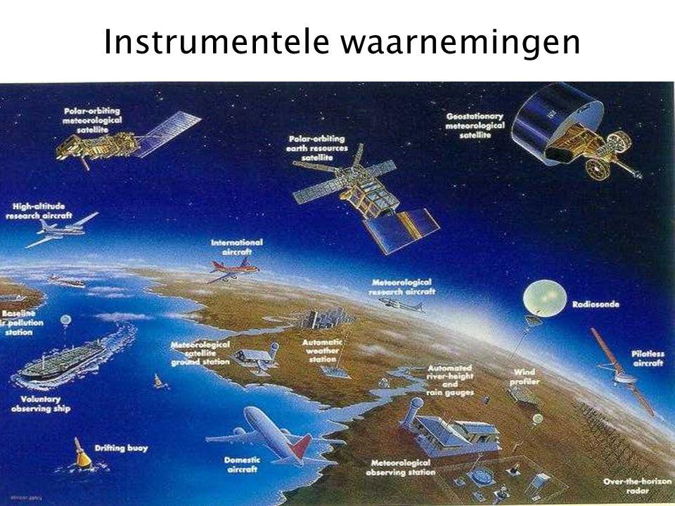 Instrumentele waarnemingen