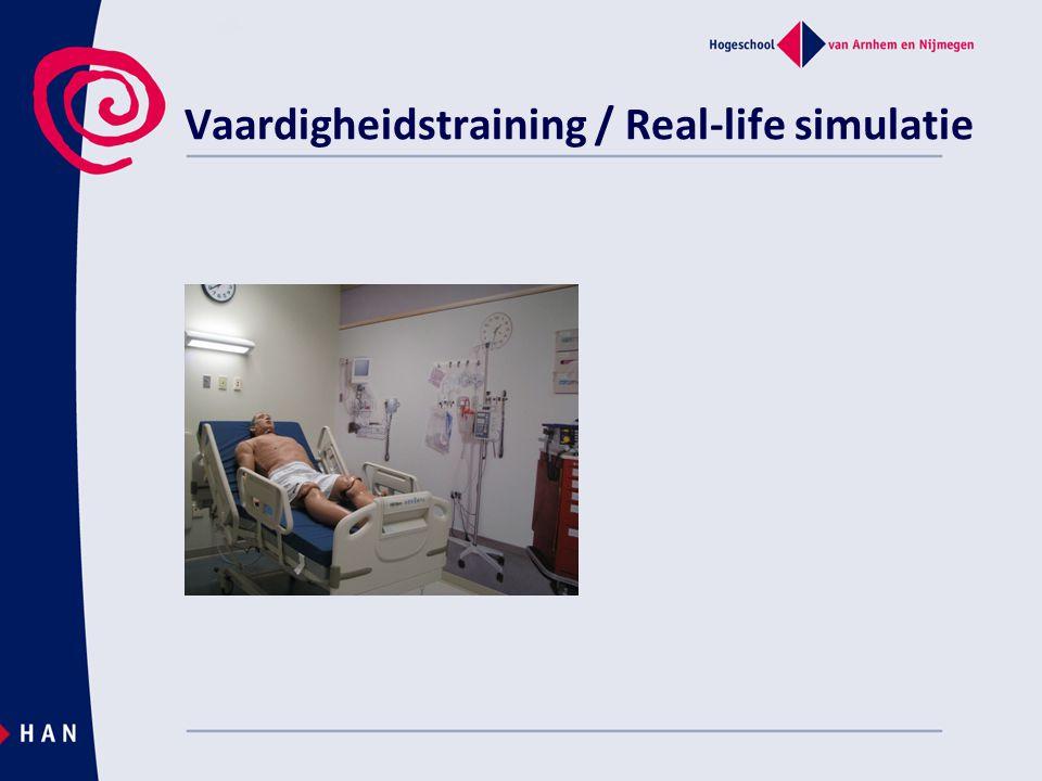 Vaardigheidstraining / Real-life simulatie