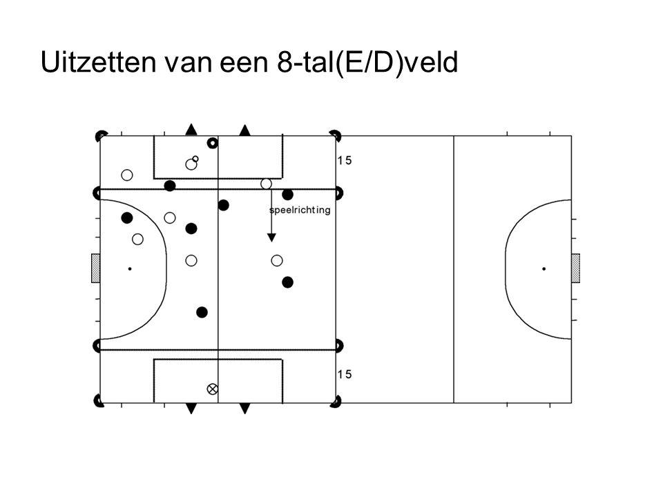Uitzetten van een 8-tal(E/D)veld