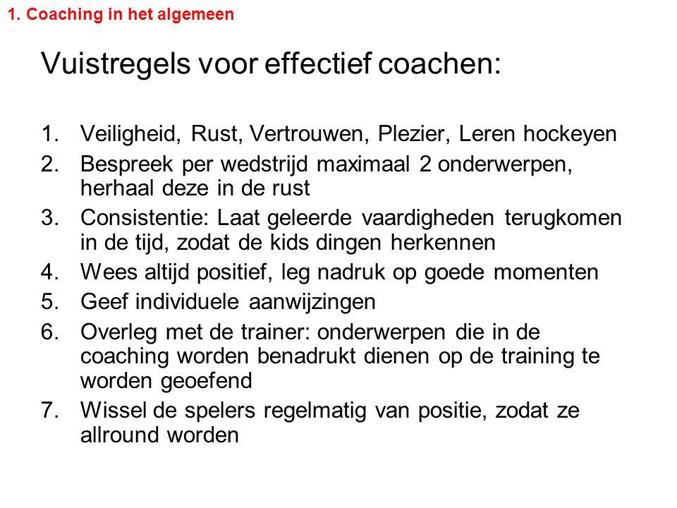 Vuistregels voor effectief coachen: