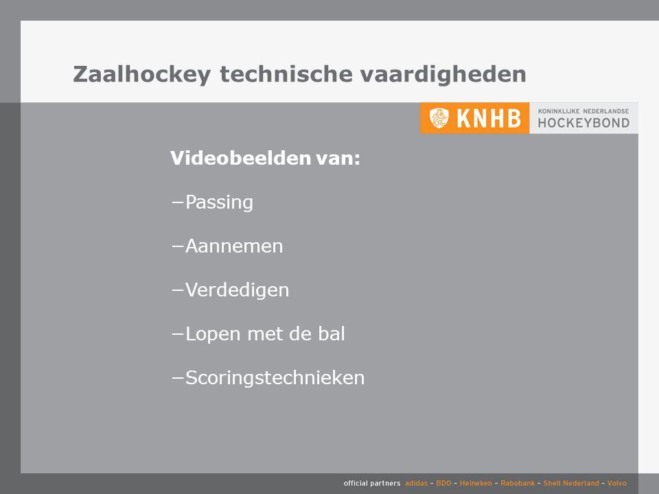 Zaalhockey technische vaardigheden