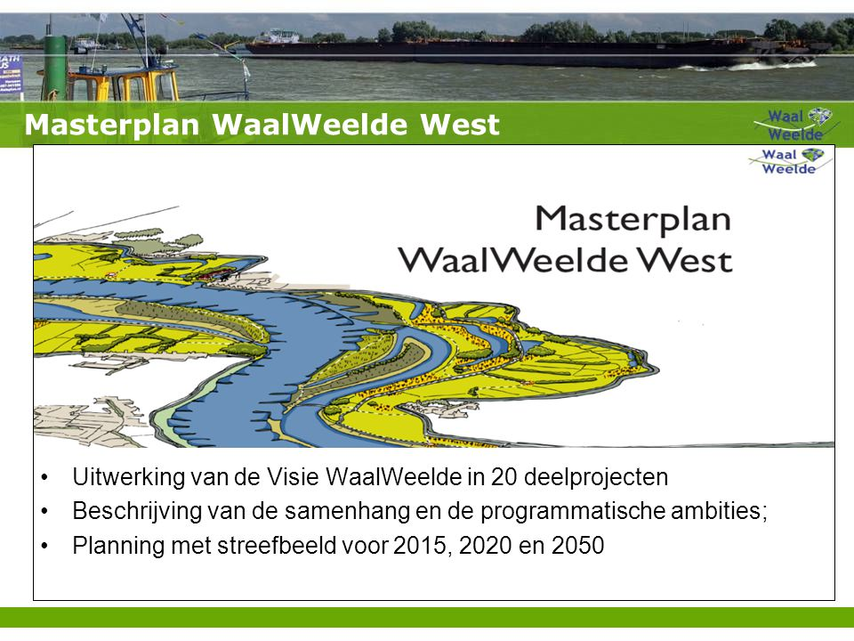 Masterplan WaalWeelde West