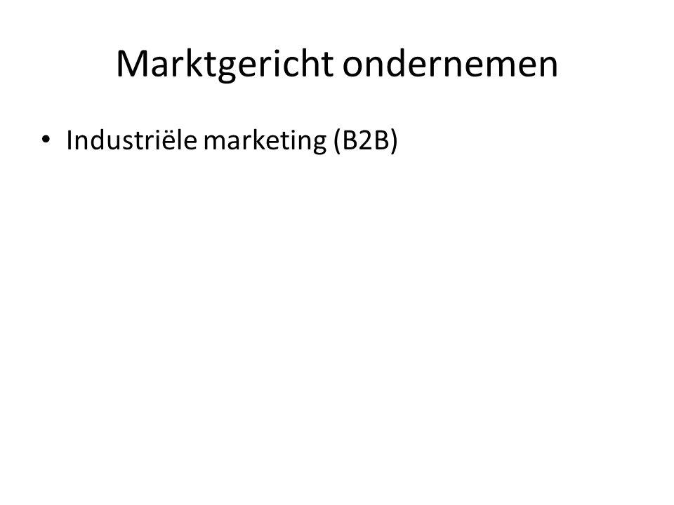 Marktgericht ondernemen