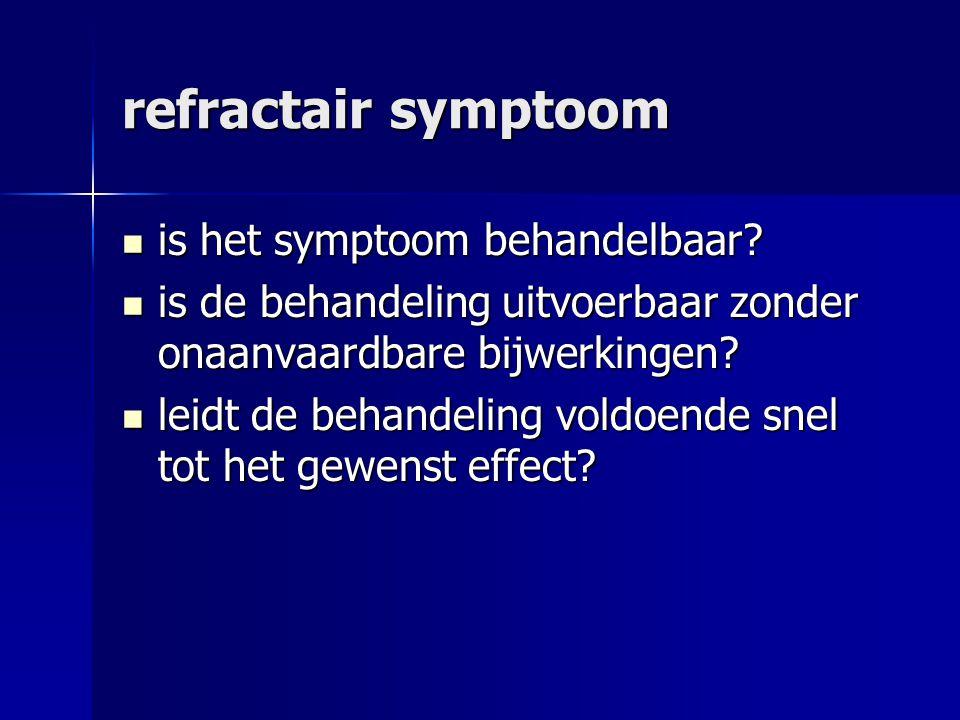 refractair symptoom is het symptoom behandelbaar