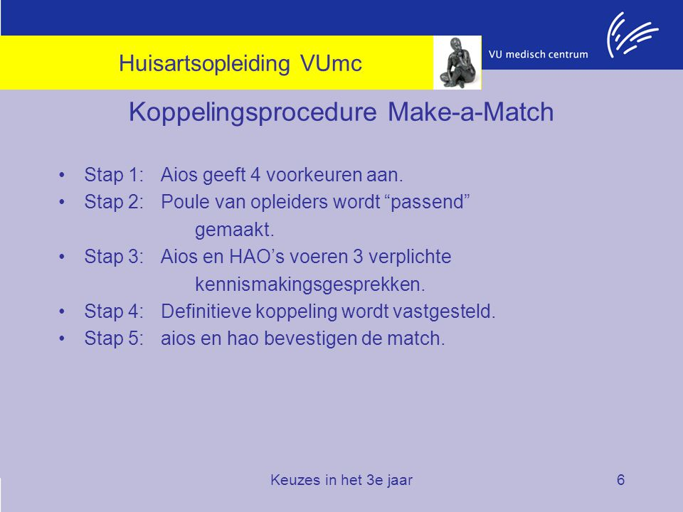 Koppelingsprocedure Make-a-Match