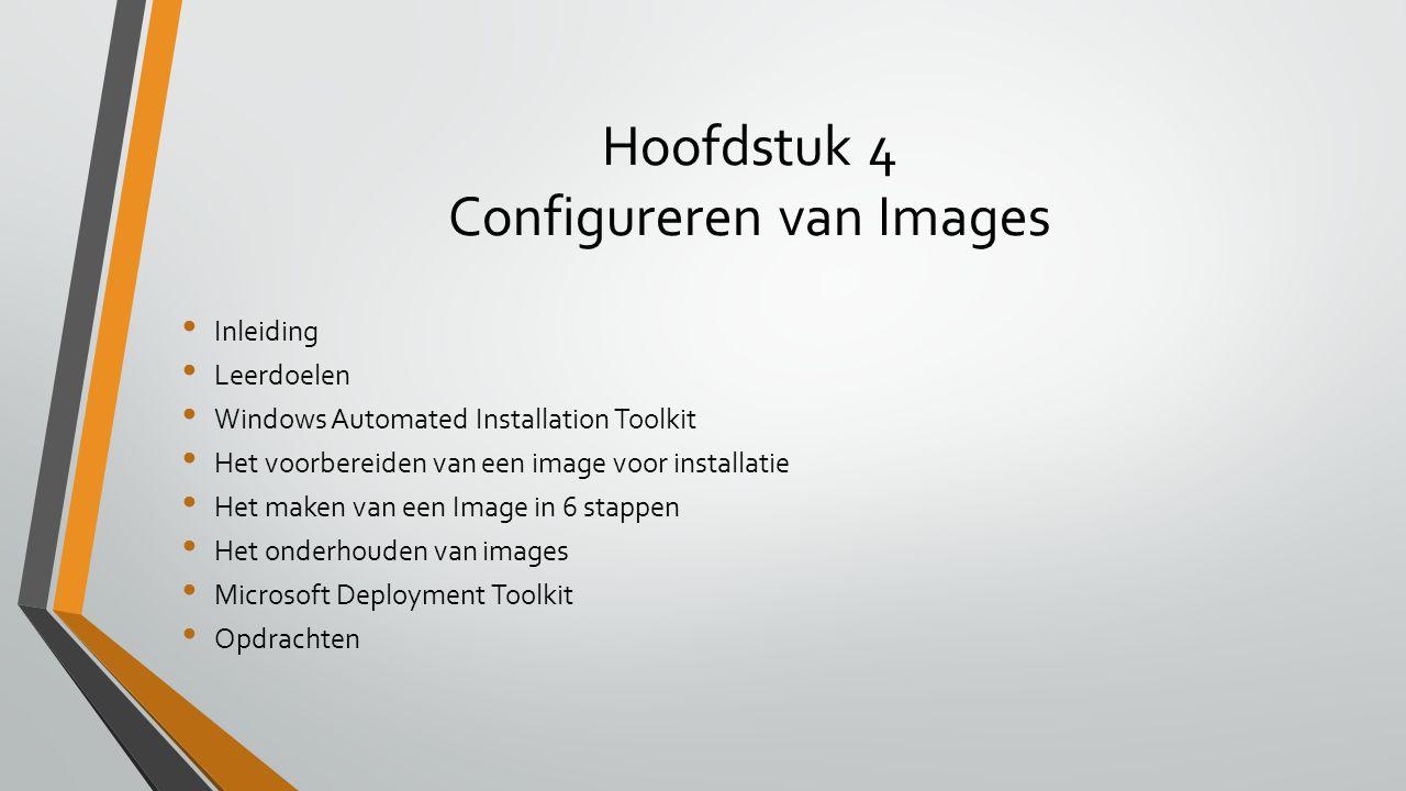 Hoofdstuk 4 Configureren van Images