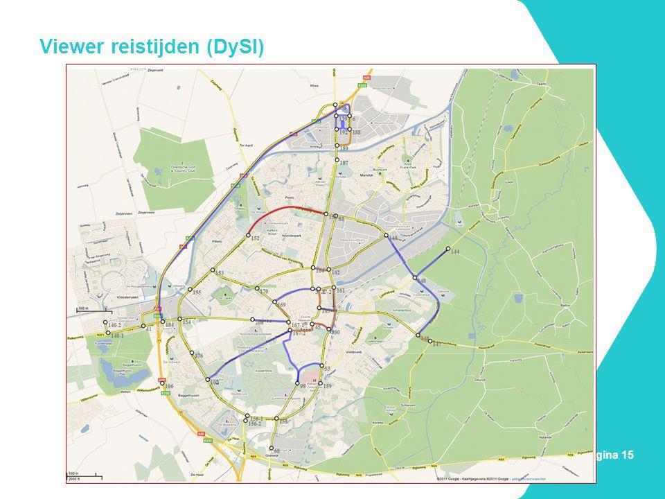 Viewer reistijden (DySI)