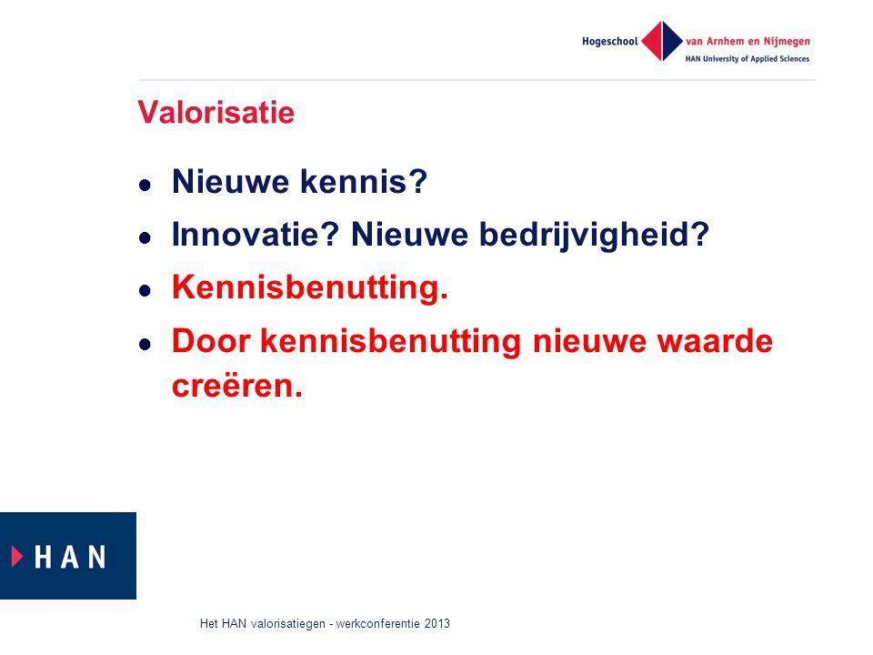 Innovatie Nieuwe bedrijvigheid Kennisbenutting.