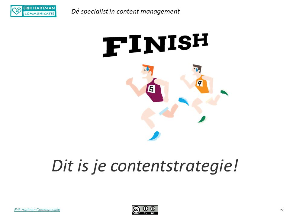 Dit is je contentstrategie!