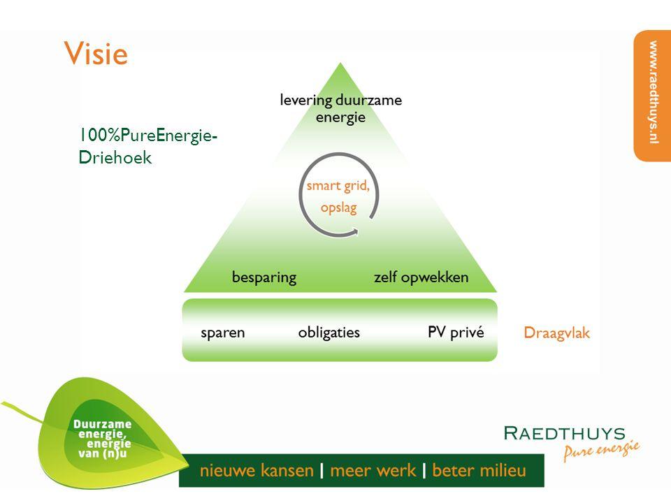 Visie 100%PureEnergie-Driehoek
