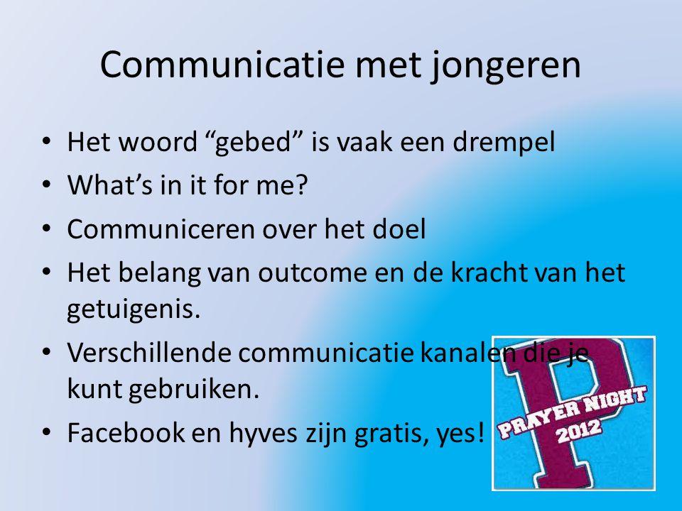 Communicatie met jongeren