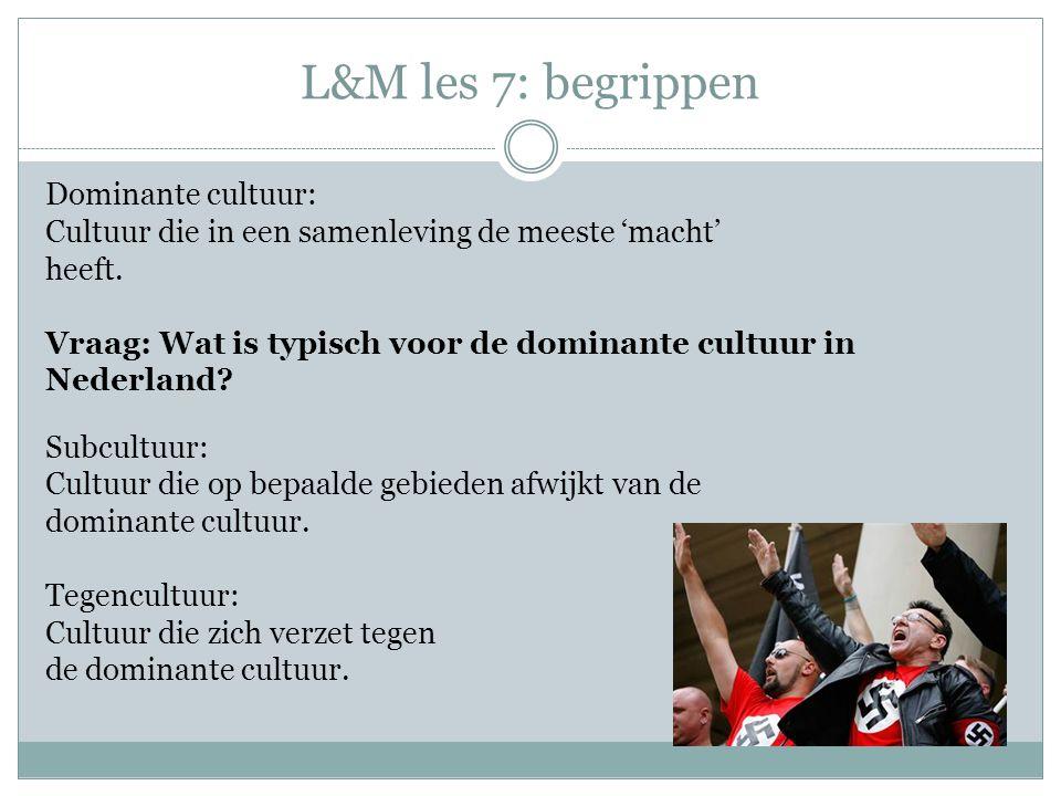 L&M les 7: begrippen