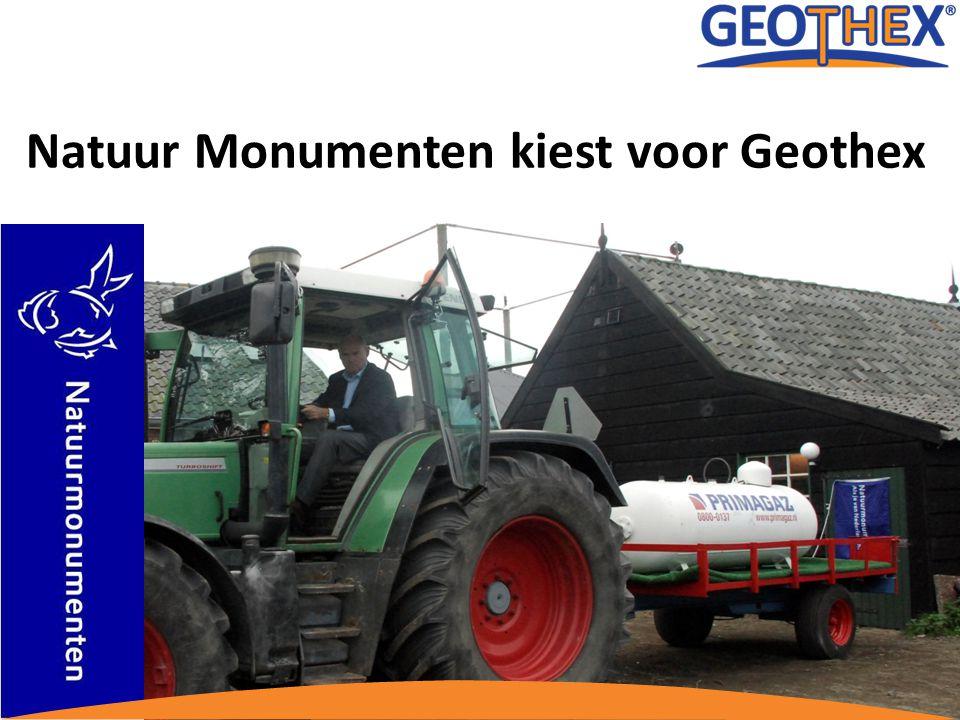 Natuur Monumenten kiest voor Geothex