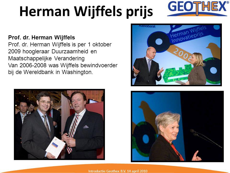 Herman Wijffels prijs
