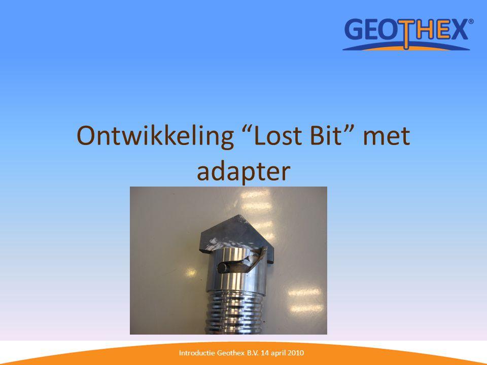 Ontwikkeling Lost Bit met adapter