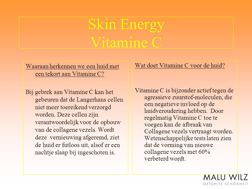 Skin Energy Vitamine C Waaraan herkennen we een huid met een tekort aan Vitamine C