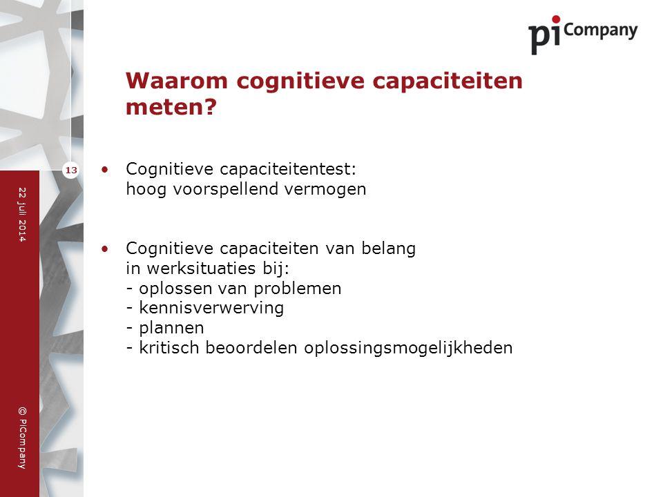 Waarom cognitieve capaciteiten meten