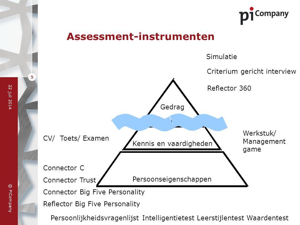 Assessment-instrumenten