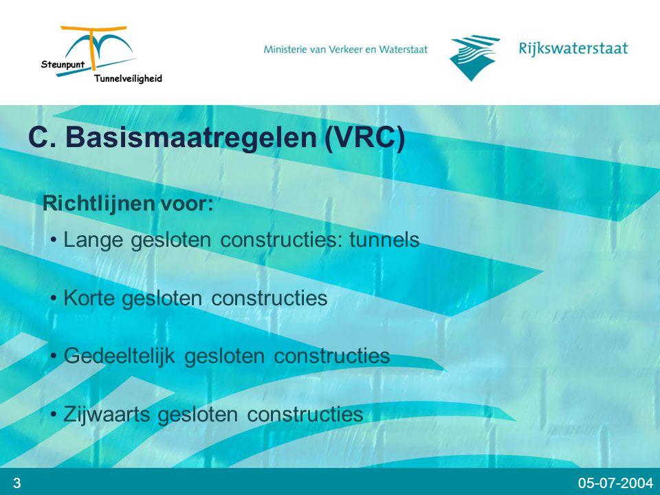 C. Basismaatregelen (VRC)