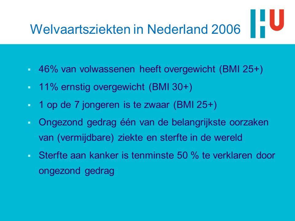 Welvaartsziekten in Nederland 2006