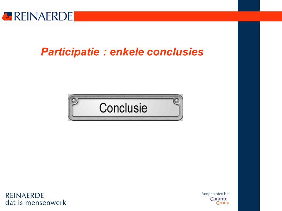 Participatie : enkele conclusies
