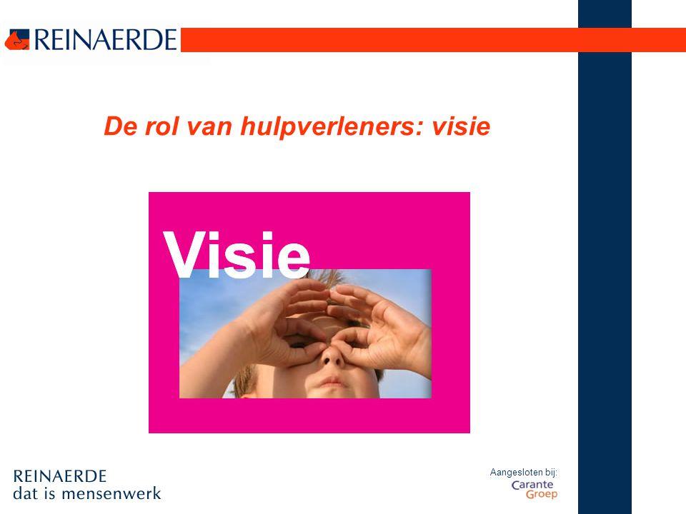 De rol van hulpverleners: visie