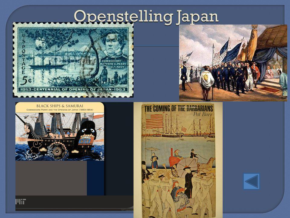 Openstelling Japan