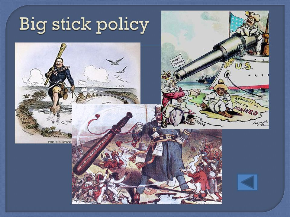 Big stick policy