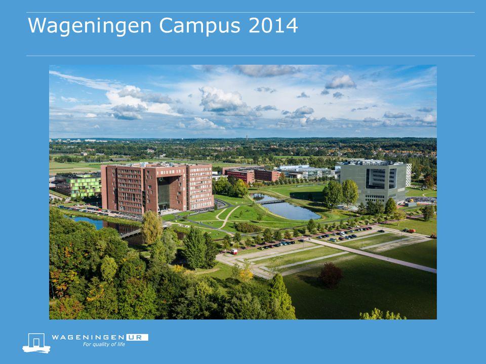 Wageningen Campus 2014 Foto's toevoegen: Forum, Orion met studenten, omgeving van de campus, Hebben we deze foto's zonder de lijntjes