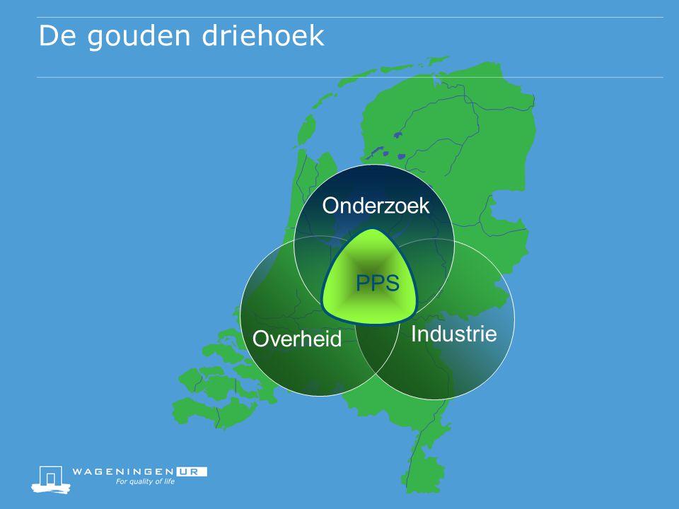 De gouden driehoek Onderzoek PPS Industrie Overheid